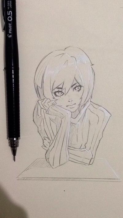 Sketch two by MuzuArt