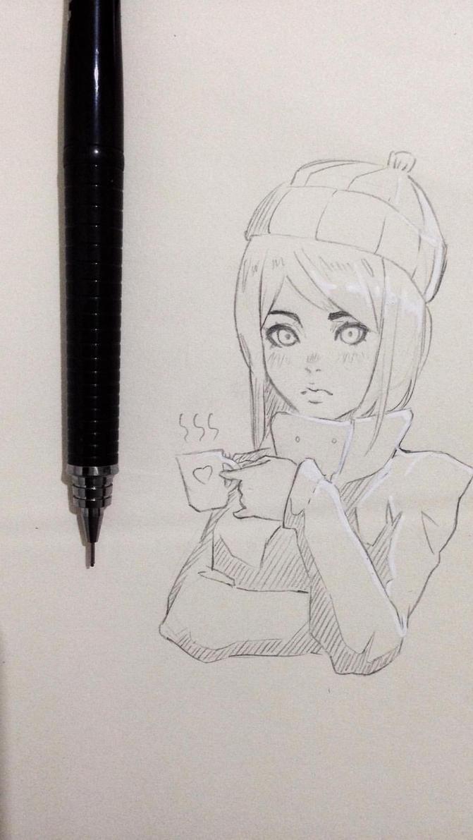 Sketch three by MuzuArt