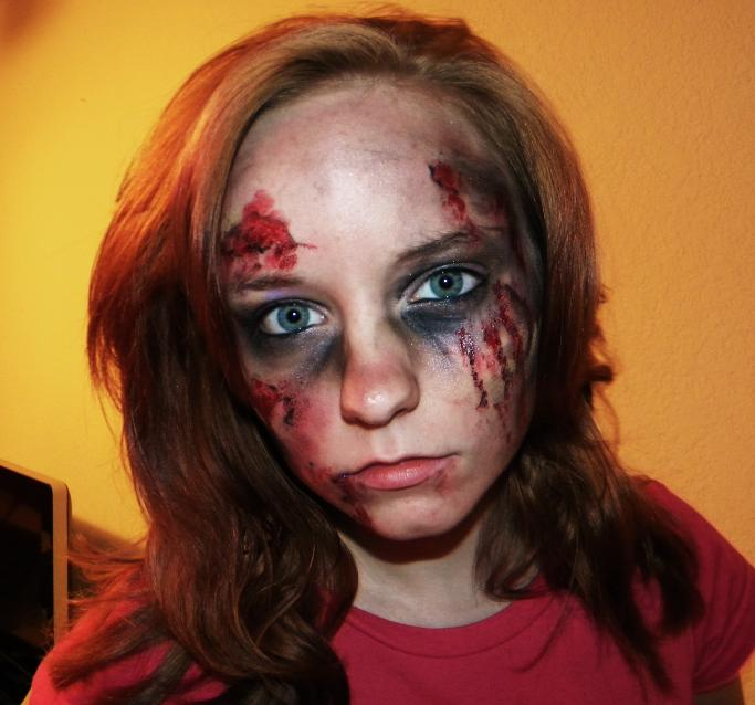Zombie Makeup by I-C-Art on DeviantArt