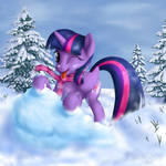 Playful Smarts at the snow