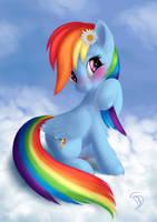 RainbowShy by blueSpaceling
