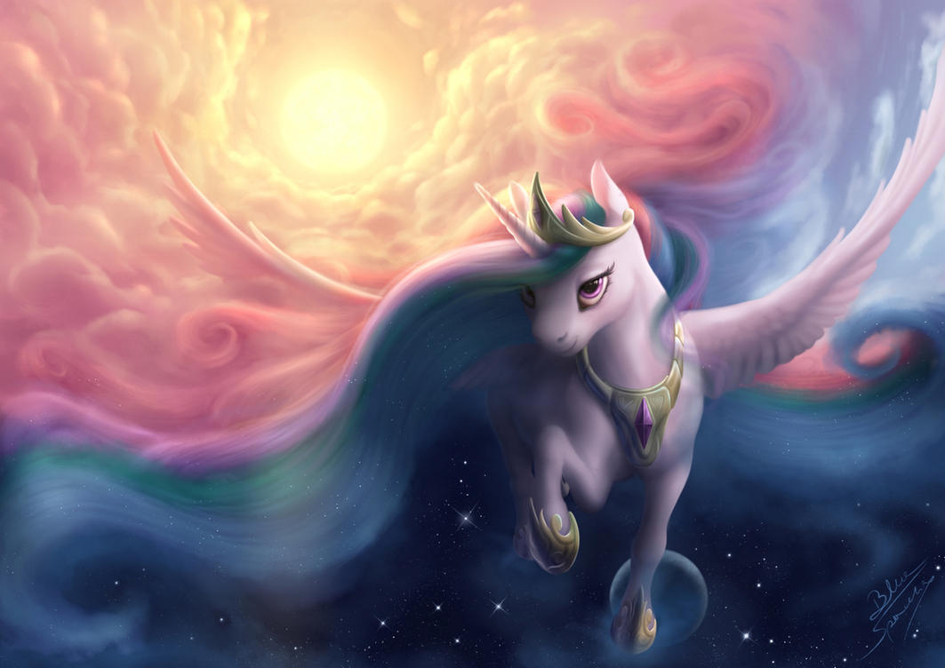 The Day Bringer by blueSpaceling