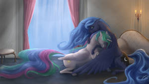 Consolation by blueSpaceling