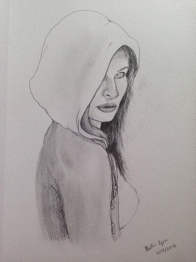 Hooded Girl  by robinlynart