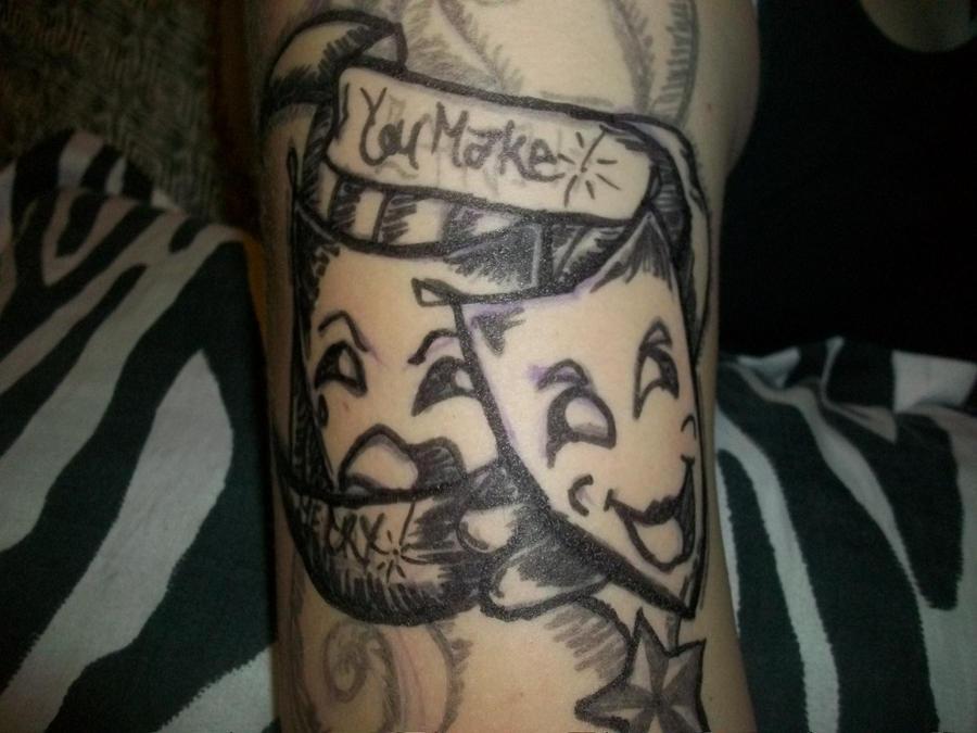 fake arm tattoo 1