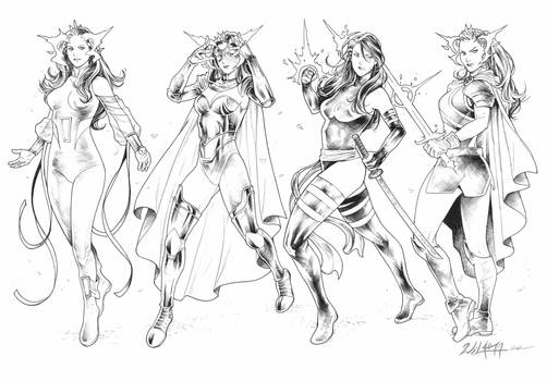 Psylocke evolution commission