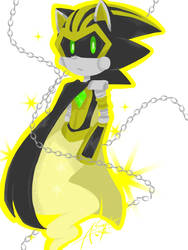 AU Shard the Metal Sonic (aka Jack) by quangloc1234567