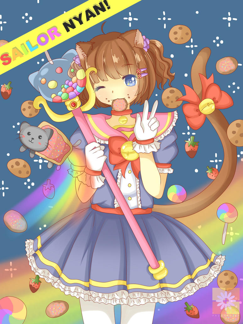 Sailor NYAN! Reborn by Yuuchan-P