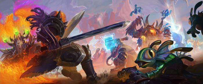 Enter the dragonshrine - the brawlening