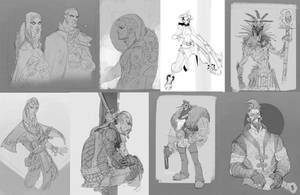 October Doodle Dump by rzanchetin
