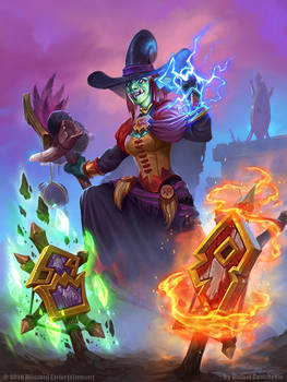 Hearthstone - Wicked Witchdoctor