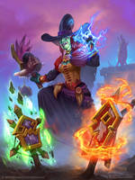 Hearthstone - Wicked Witchdoctor by rzanchetin