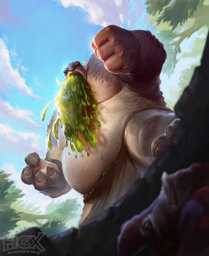 HEX - Puke Troll by rzanchetin