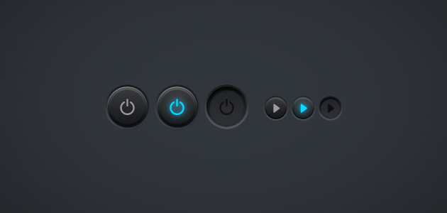 Power button by Shegystudio