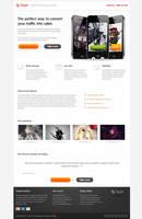 Target landign page free psd by Shegystudio