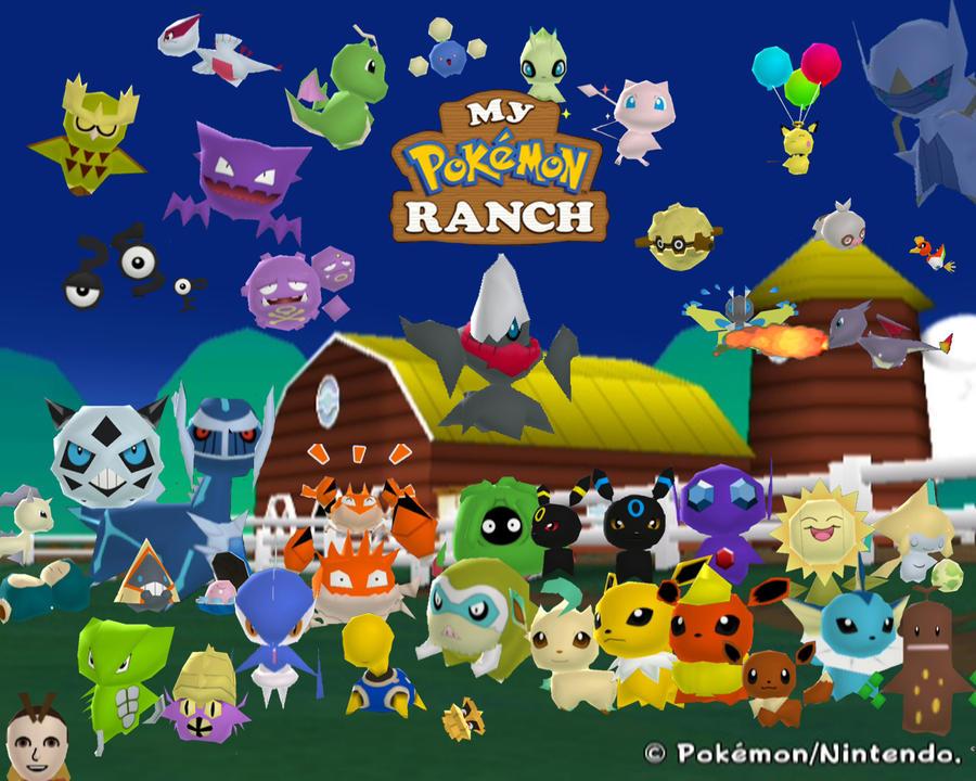 My Hacked Pokemon Ranch By Raccoon Ninja On Deviantart