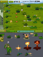 Flash game 'Command and Defend