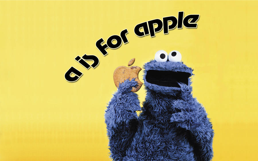 A is For Apple Choco Cookie