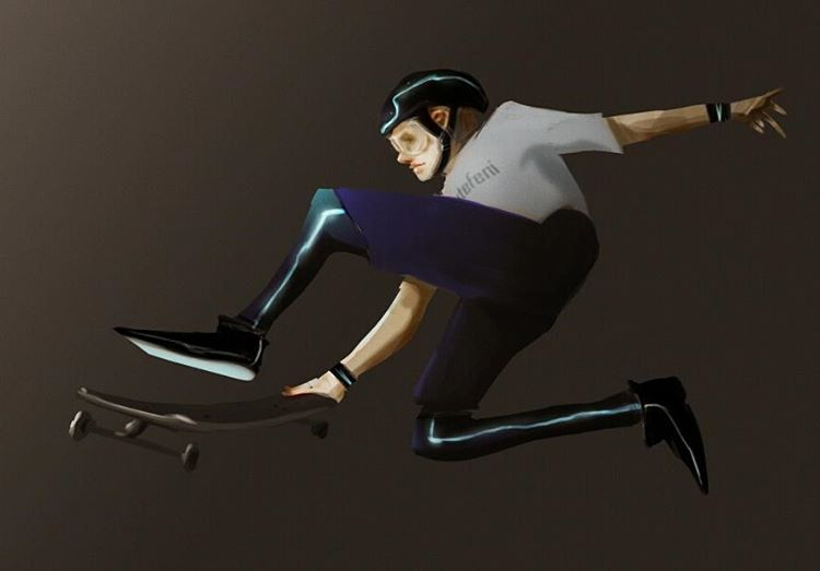 Skater boy by sutefeni