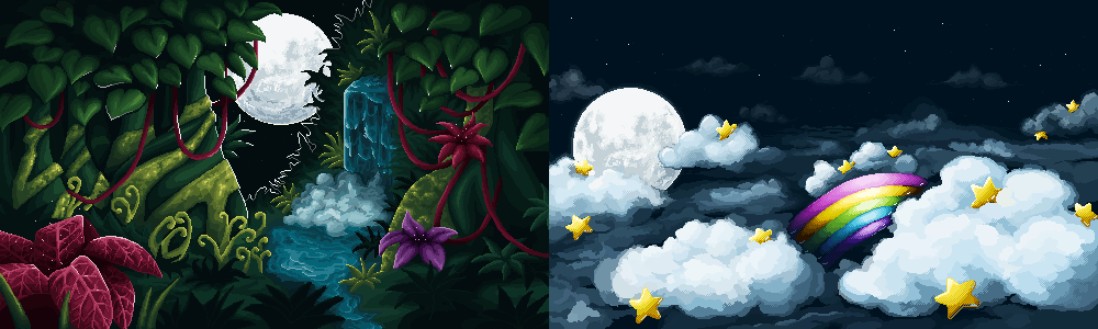 Flash Game Backgrounds by Arsinoes on DeviantArt