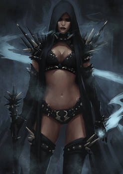 Dark Elf Mage - Concept