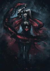 Dark Elf Summoner - Concept 5