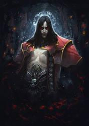 Castlevania LoS - Dracula by Arsinoes