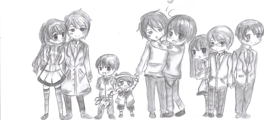 Anime Family by suzunehajime on DeviantArt