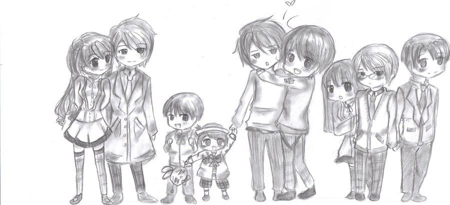 Anime Family by suzunehajime on DeviantArt
