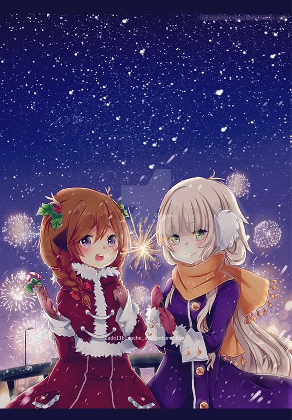 ShiAm Christmas by LaDollBlanche