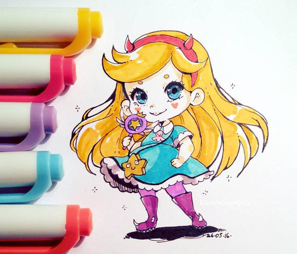 Star Butterfly by LaDollBlanche