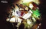 Wallpaper Shingeki No Kyojin Rivaille/Levi