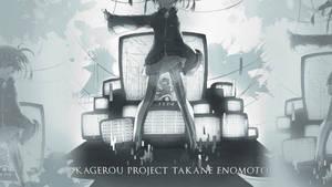 Wallpaper Kagerou Project Takane Enomoto