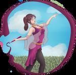 Contest entry : Iona the fire princess