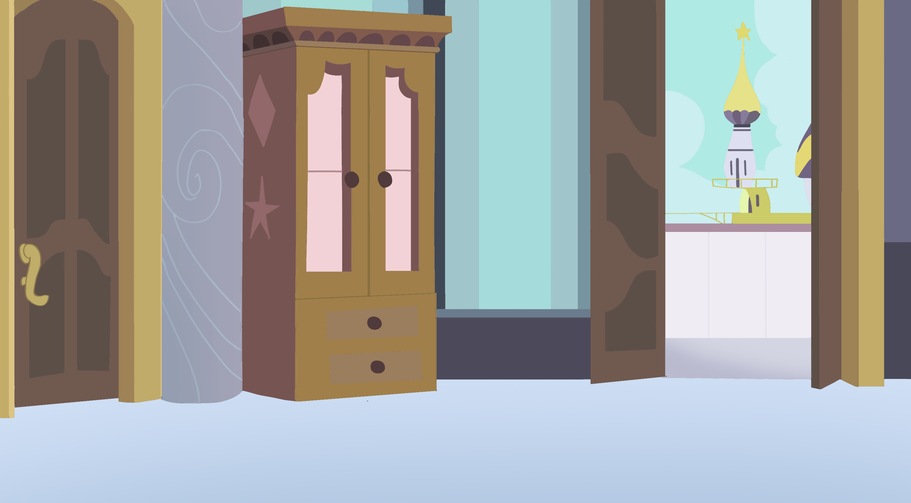Castle room background -  Canterlot Castle Room Background By Stelar Eclipse