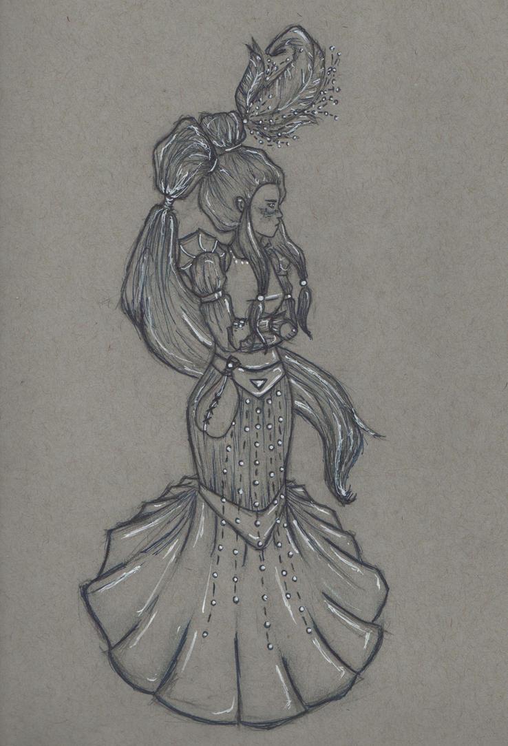 Princess Irulan by electriceight
