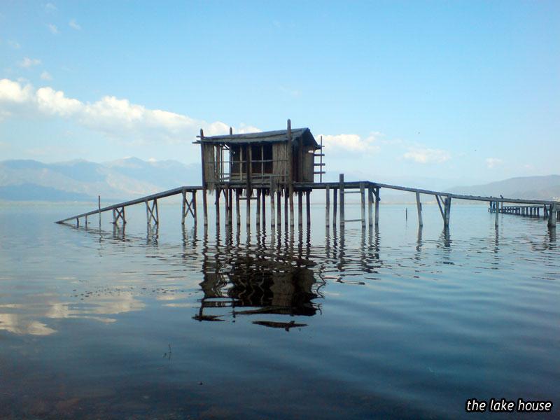 Jazero dom v Anglicku
