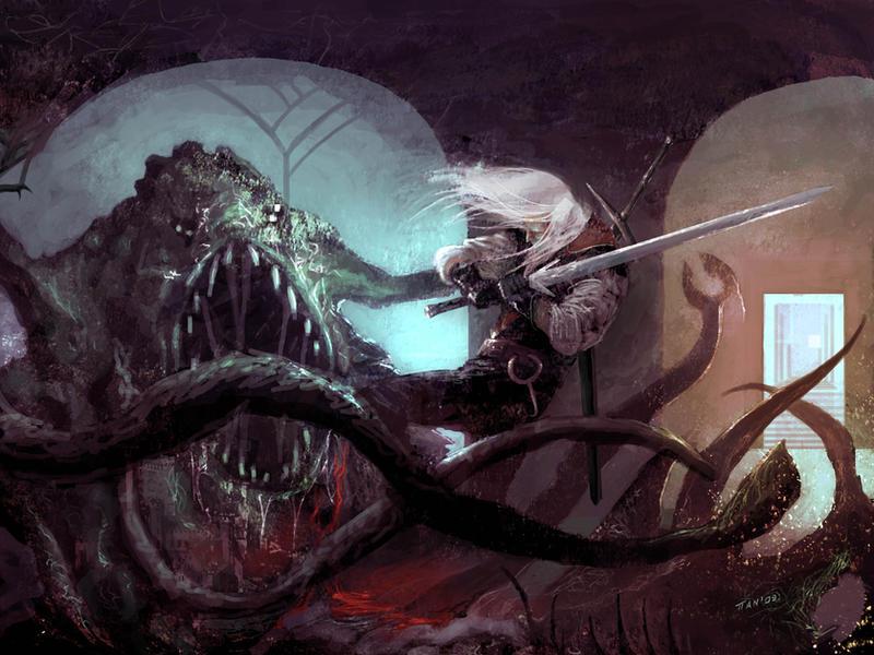 Geralt Di Rivia by weaselpa