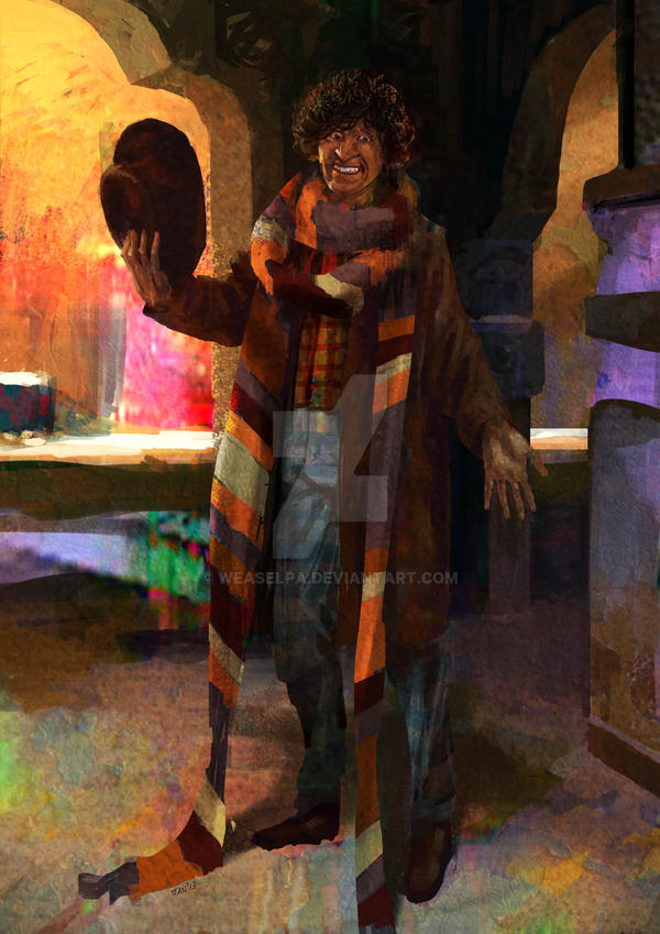 The Fourth Doctor by weaselpa