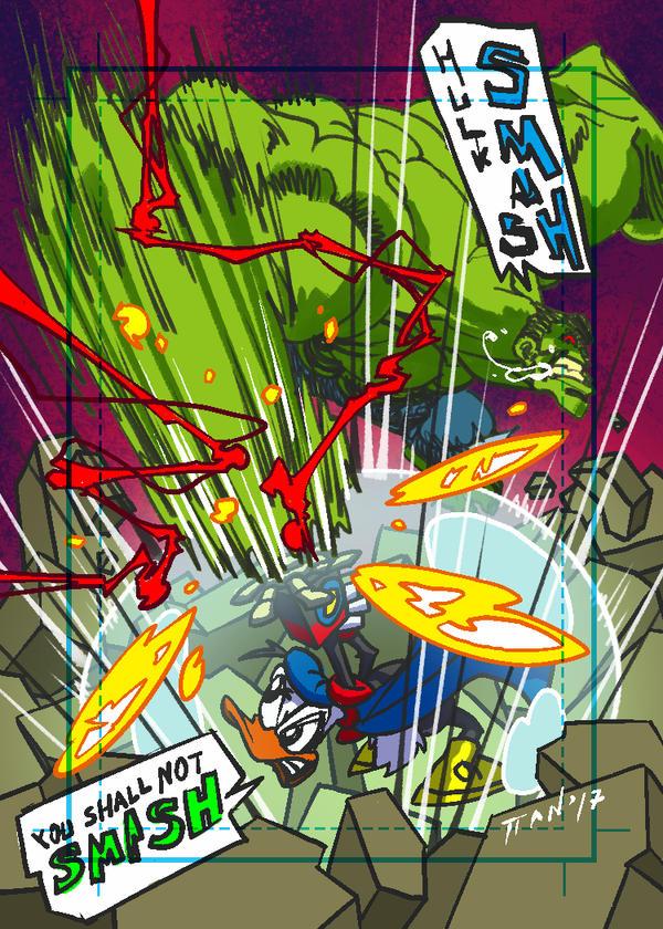 Sketch Card Phantom Goliath by weaselpa