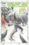 TMNT sketch cover by Panagiotis Vlamis by weaselpa