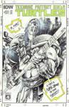 TMNT Casey Jones 2 sketch cover Panagiotis Vlamis by weaselpa