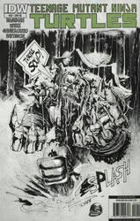 TMNT Slash sketch cover by Panagiotis Vlamis by weaselpa