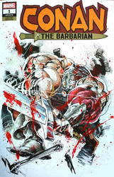 Conan sketch cover by Panagiotis Vlamis by weaselpa