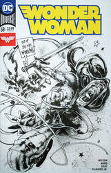 Wonder Woman sketch cover Panagiotis Vlamis