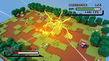 Pokemon fierce voxel battle