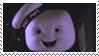 Marshmallow Man - Stamp by nostu