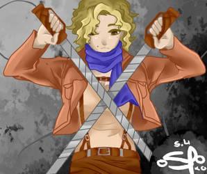 {SNK OC} Sina Lynnett by Fairy-Tail-Exeed