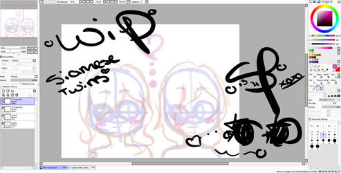 {W.I.P} Siamese Twins by Fairy-Tail-Exeed