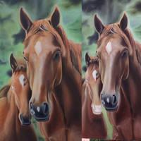 Horses wip 2